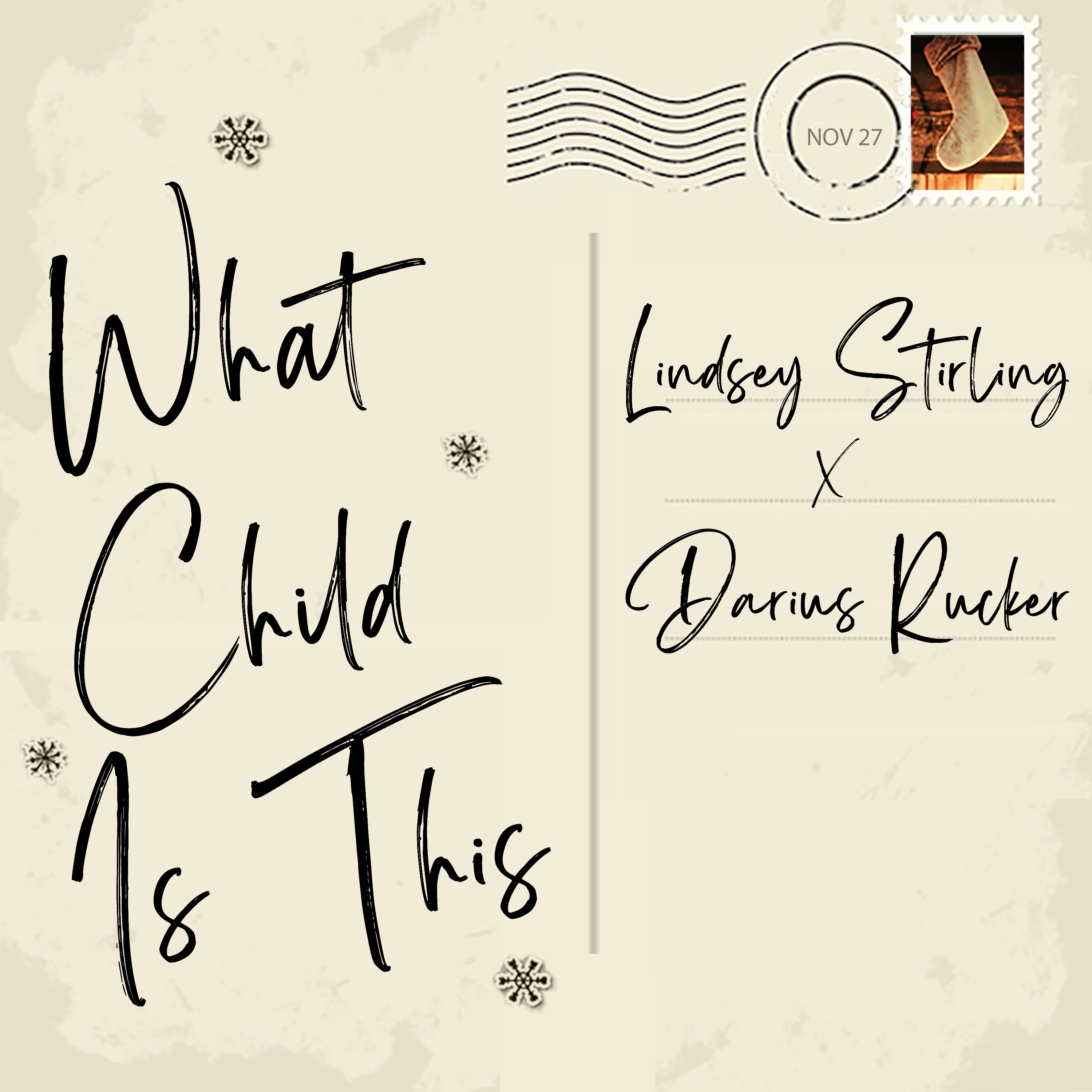 Lindsey Stirling X Darius Rucker - What Child Is This